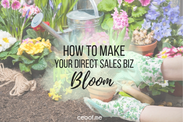 How to Make Your Direct Sales Business Bloom