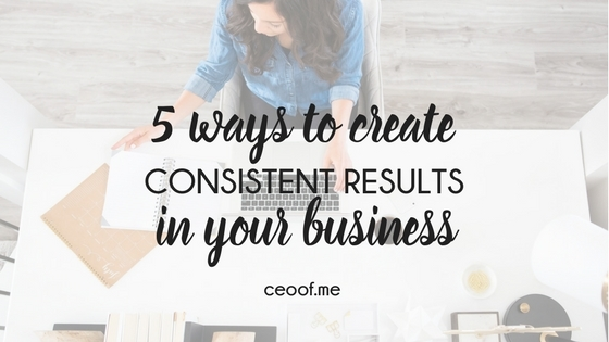 5 ways to create consistent results in your direct sales business