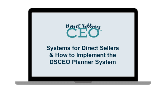 systems for direct sellers class