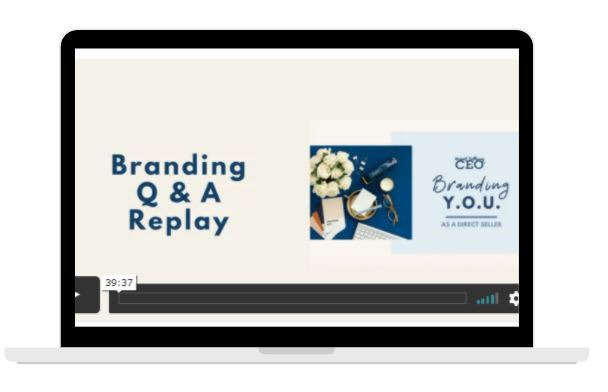 Bonus Video - Branding Q & A Replay