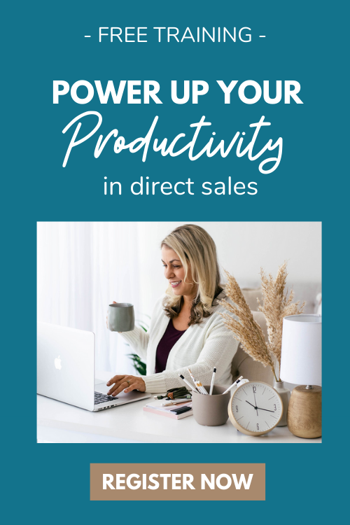 Register for my free Power up your Productivity Workshop